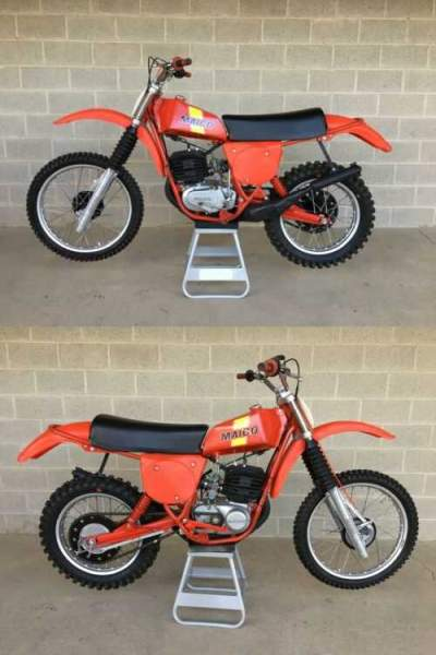 1977 KTM AW 250 Red for sale craigslist photo