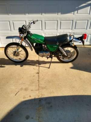 1977 Kawasaki Kawasaki KE 250 Green for sale craigslist