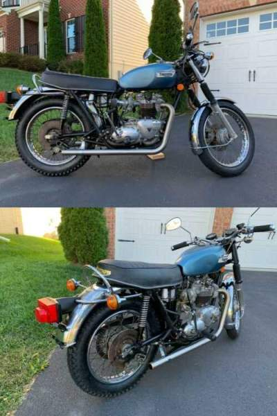 1977 Triumph Bonneville  for sale craigslist photo