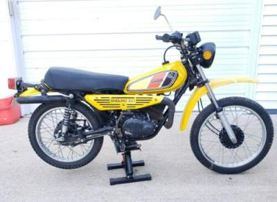 1977 Yamaha Dt100 Yellow for sale