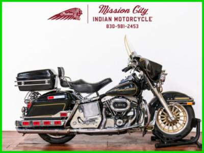 1978 Harley-Davidson FLH 75Th Anniversary Electra Glide Shovelhead Anniversary Black/Gold for sale