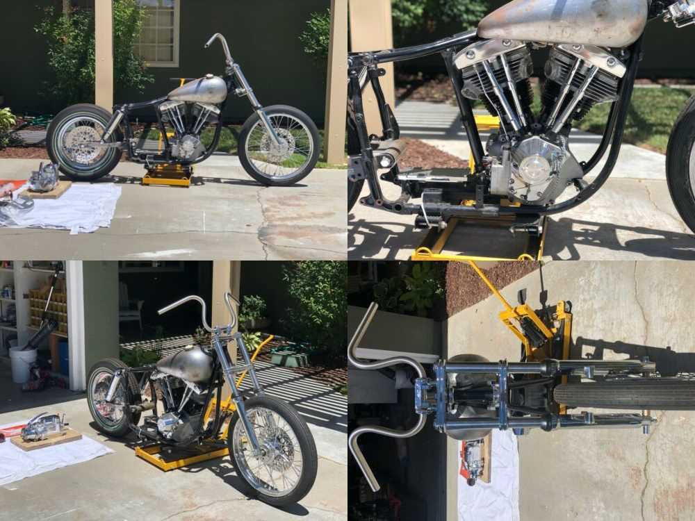 1978 Harley-Davidson Shovelhead Raw metal for sale craigslist