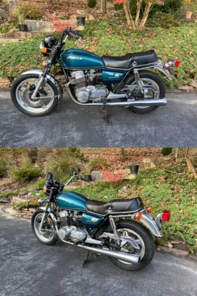 1978 Honda CB Blue for sale craigslist photo