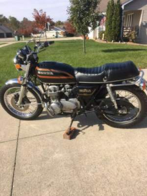 1978 Honda CB550K Black for sale