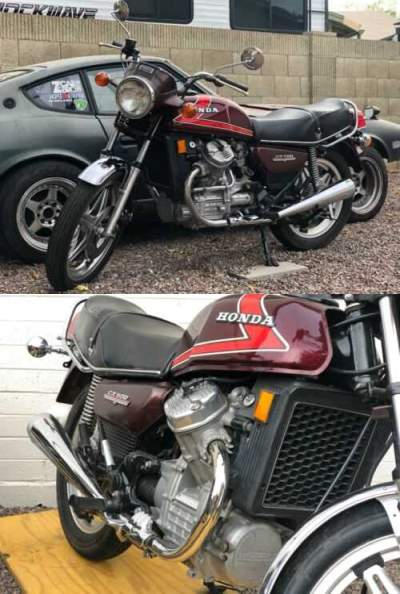 1978 Honda CX500 Red for sale