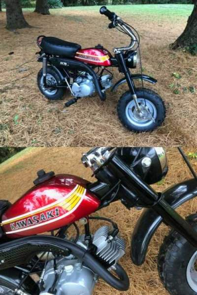 1978 Kawasaki KV75  for sale craigslist photo