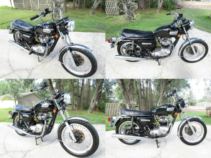 1978 Triumph Bonneville for sale craigslist
