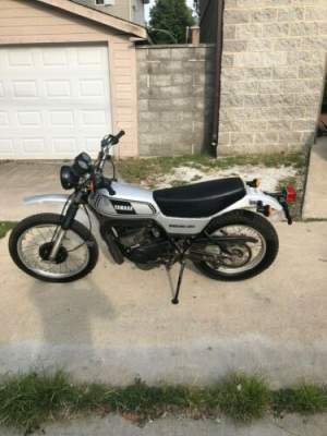 1978 Yamaha 1978 YAMAHA DT 250 Gray for sale craigslist