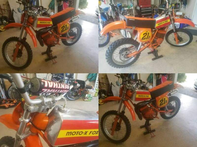 1979 Can-Am MX5 Orange for sale