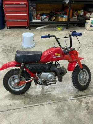 1979 Honda 1979 Honda z50a Red for sale