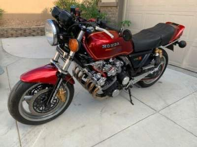 1979 Honda CBX Candy Glory Red for sale craigslist