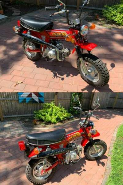 1979 Honda CT CT-70 Trail 70 Red for sale craigslist photo