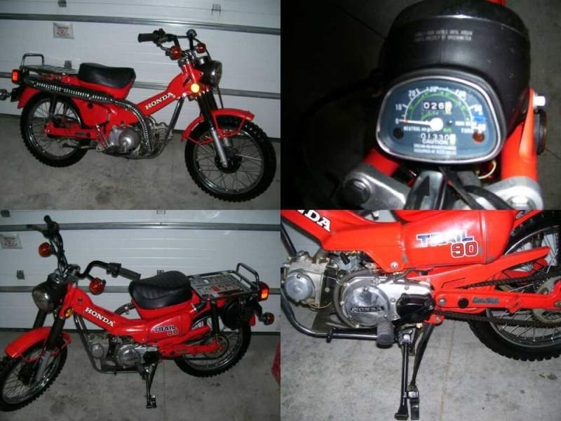 1979 Honda CT Red for sale craigslist photo