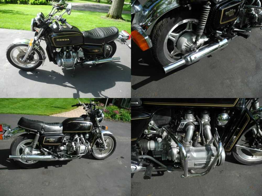 1979 Honda Gold Wing Black for sale