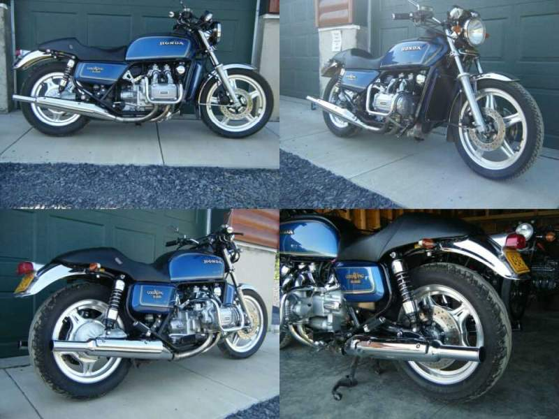 1979 Honda Gold Wing Blue for sale craigslist photo
