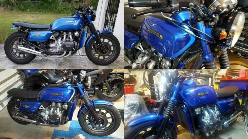 1979 Honda Gold Wing Blue for sale