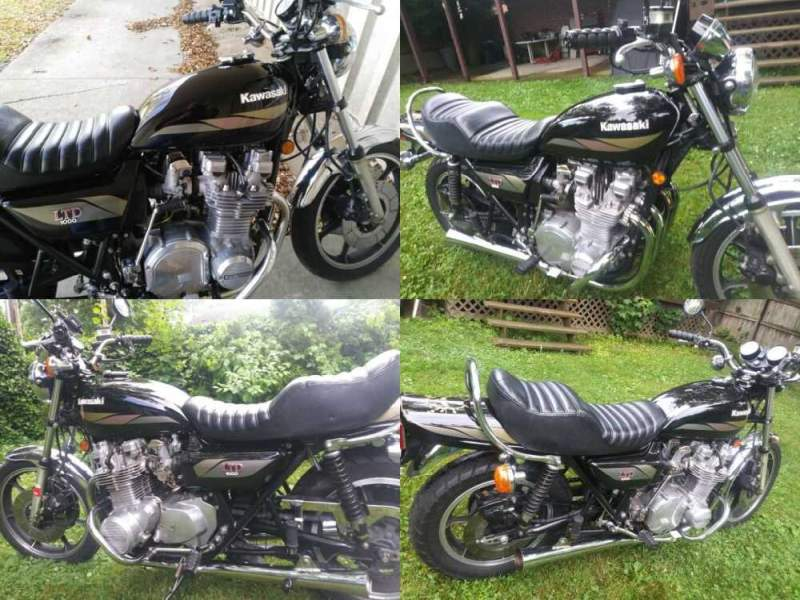 1979 Kawasaki KZ1000 LTD Green for sale craigslist