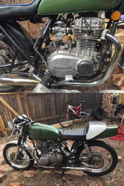 1979 Kawasaki Kz400 Green for sale craigslist
