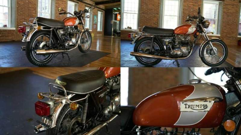 1979 Triumph Bonneville  for sale craigslist photo