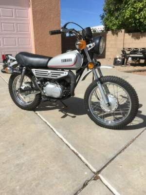 1979 Yamaha GT80 Silver for sale
