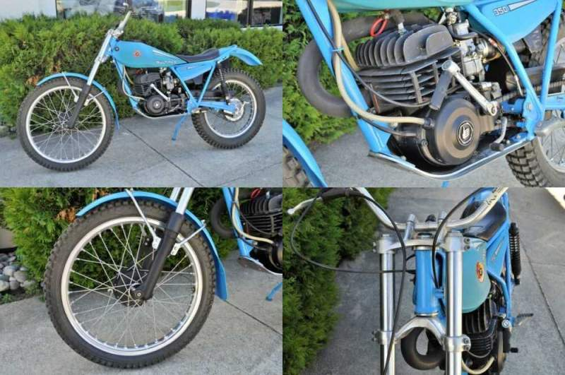 1980 Bultaco Sherpa T 350 Blue for sale craigslist photo