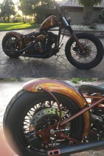 1980 Custom Built Motorcycles Bobber Black for sale