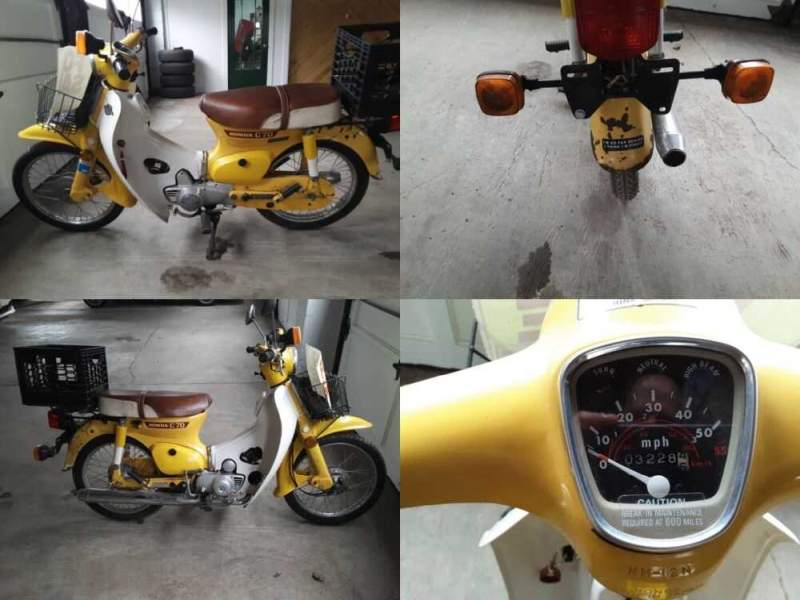 1980 Honda C70 Yellow for sale