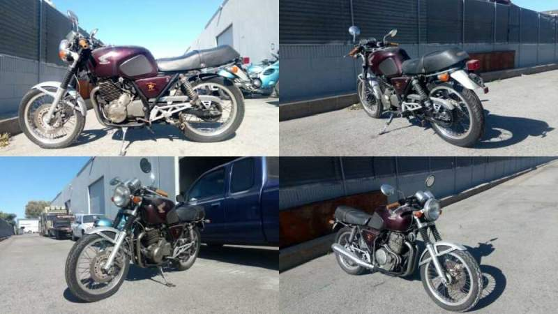 1980 Honda GB500 Burgundy for sale