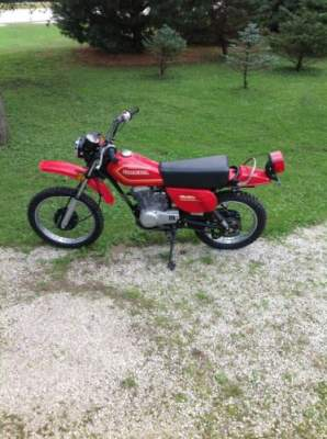 1980 Honda Xl80S Red for sale craigslist photo