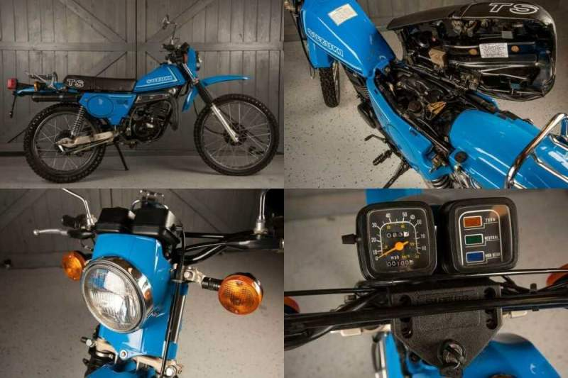 1980 Suzuki TS185 Blue for sale
