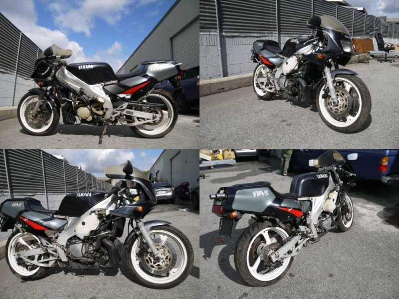 1980 Yamaha TZR250 Black for sale craigslist photo