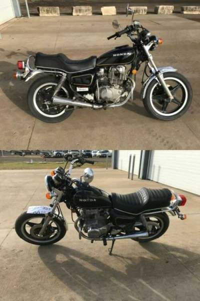 1981 Honda CM400 Black for sale