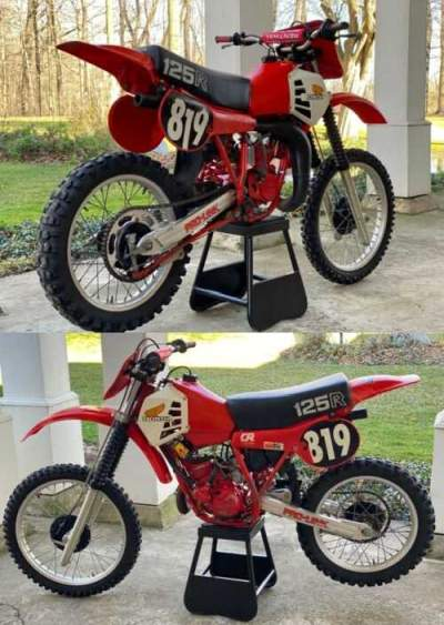 1981 Honda CR Red for sale craigslist photo