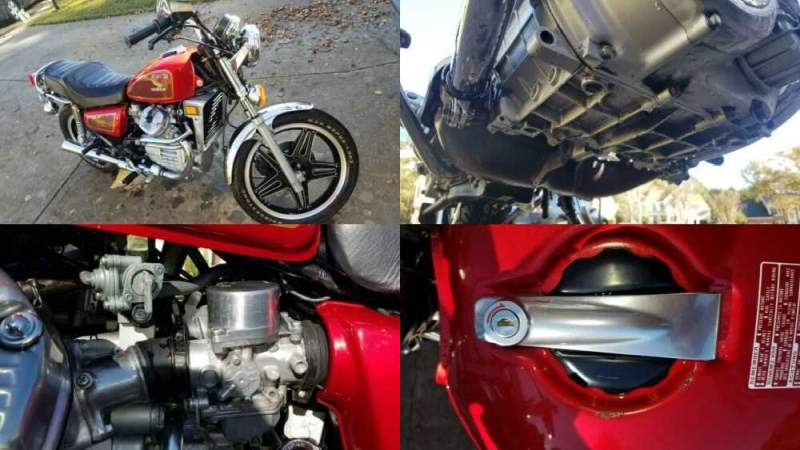 1981 Honda CX500 Red for sale