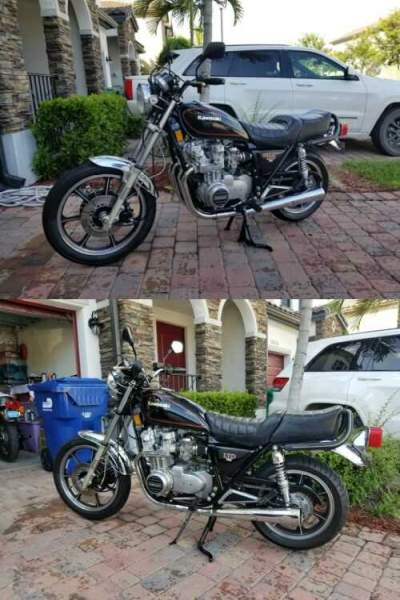 1981 Kawasaki LTD Black for sale craigslist