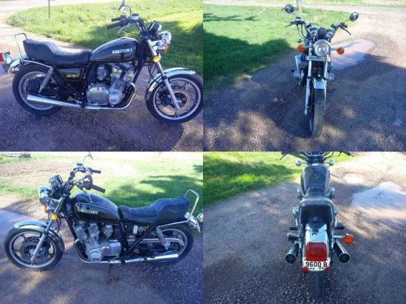 1981 Suzuki GS Black for sale craigslist photo