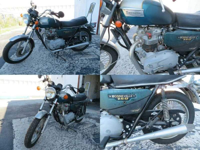 1981 Triumph Bonneville for sale craigslist