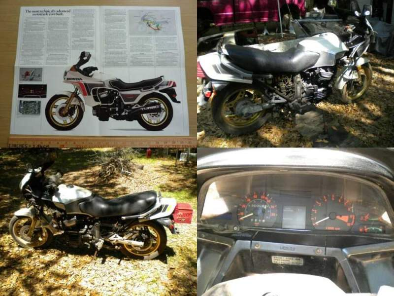 1982 Honda CX 500 TURBO Silver for sale craigslist