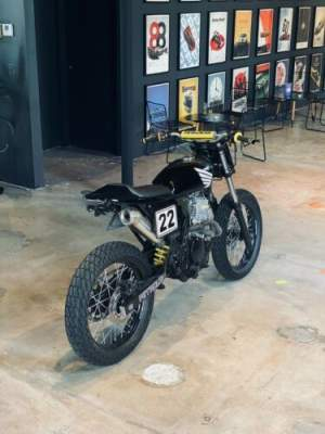 1982 Honda Cafe Racer, Scrambler, Tracker, Restored, Dominator, Honda Black for sale craigslist