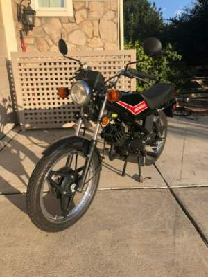 1982 Honda Honda MB5 Mini Sportbike 49cc Scooter Black for sale