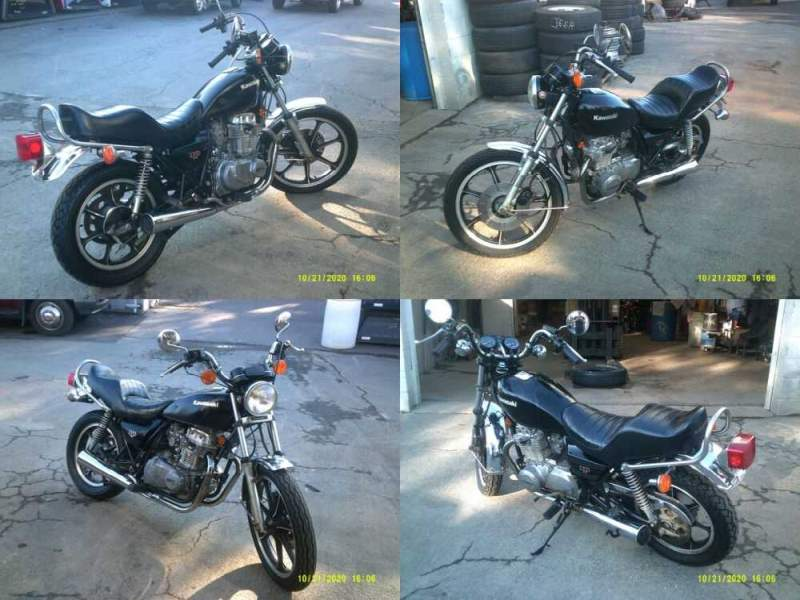 1982 Kawasaki LTD Black for sale craigslist photo