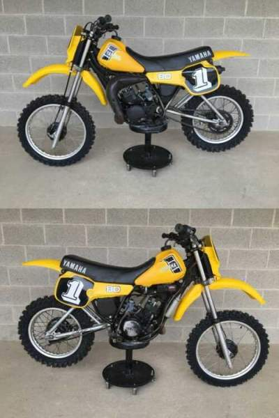 1982 Yamaha YZ Yellow for sale craigslist photo