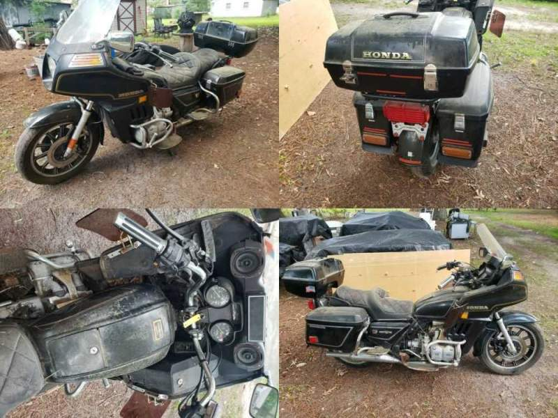 1983 Honda Gold Wing Black for sale craigslist