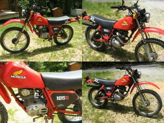 1983 Honda xl 185S Red for sale craigslist
