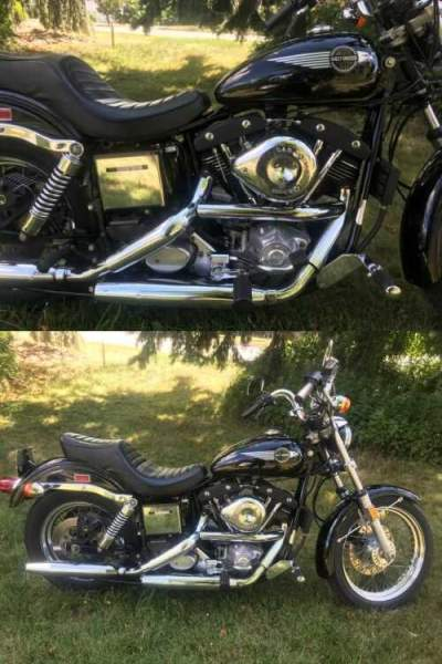 1984 Harley-Davidson Touring Black for sale craigslist photo