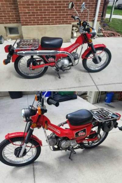 1984 Honda CT Red for sale craigslist photo