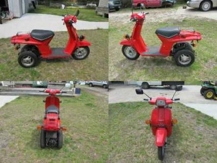 1984 Honda GYRO Red for sale craigslist photo