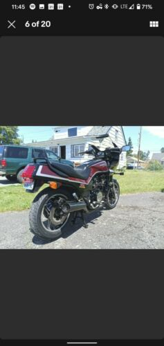 1984 Honda VF1100S Red for sale craigslist photo