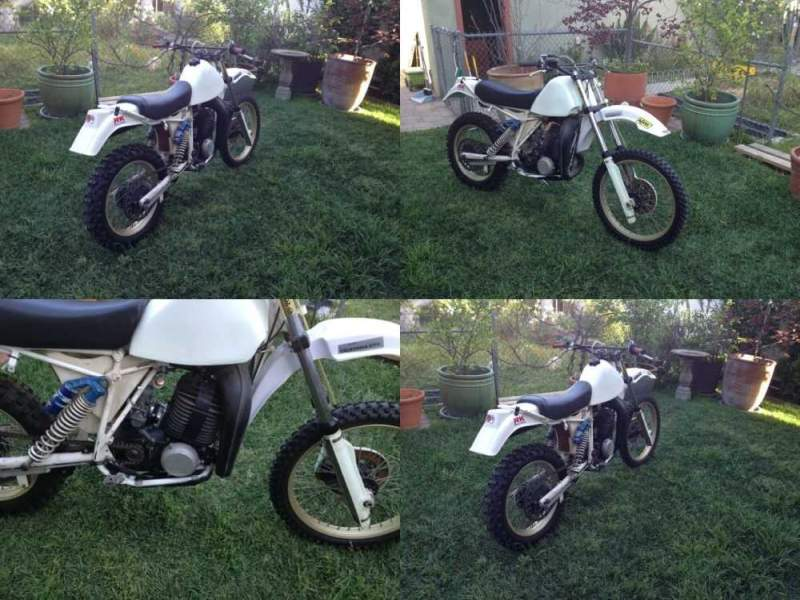 1984 Husqvarna xc 500 air cooled White for sale craigslist photo
