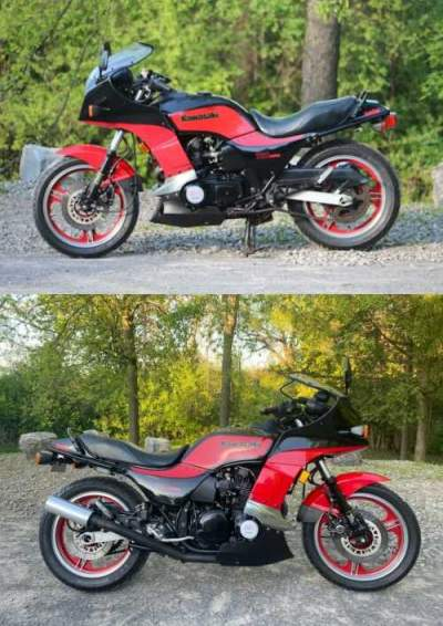 1984 Kawasaki GPZ 750 GPZ750 E1 TURBO RED for sale craigslist